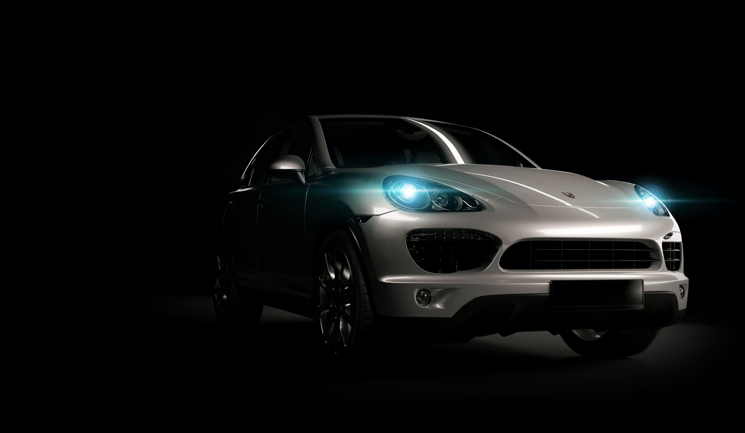 Porsche leasing hvid
